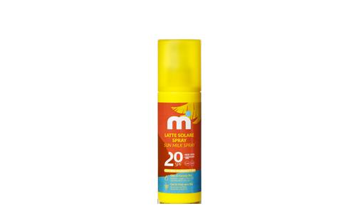 Latte solare spray 20